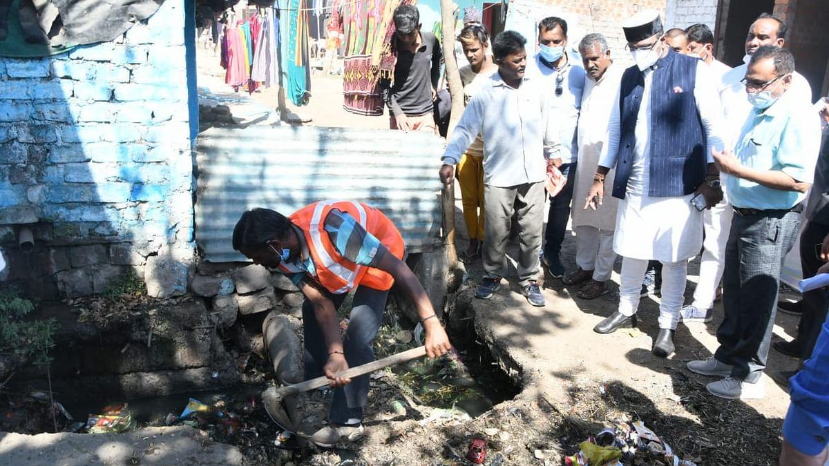 मंत्री सारंग ने विशेष सफाई अभियान की शुरुआत की, 7 दिन चलेगा अभियान