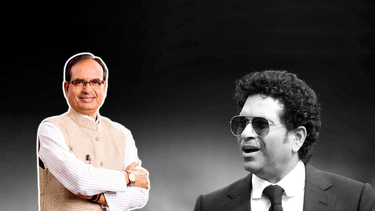 कोरोना की चपेट में आए सचिन तेंदुलकर, CM शिवराज ने की जल्द स्वस्थ होने की कामना