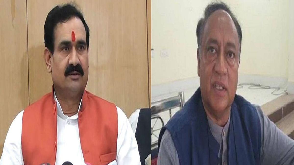 गृह मंत्री नरोत्तम मिश्रा ने कांग्रेस विधायक लक्ष्मण को लेकर दिया ये बयान