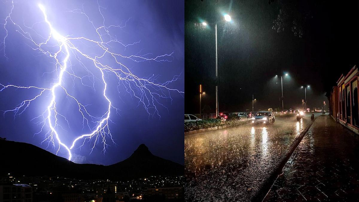 भोपाल में बिगड़े मौसम के मिजाज, एक पर गिरी बिजली दूसरे की करंट ने ली जान