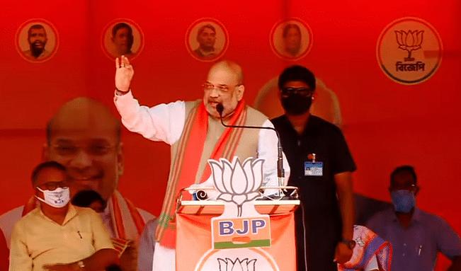बंगाल के तेहट्टा में अमित शाह ने राहुल बाबा को कराया BJP के DNA का परिचय