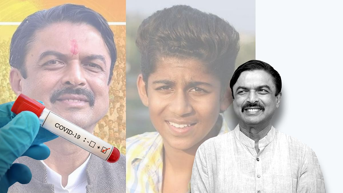 सुसनेर MLA राणा विक्रमसिंह व उनके बेटे को हुआ कोरोना, ट्वीट करके दी जानकारी