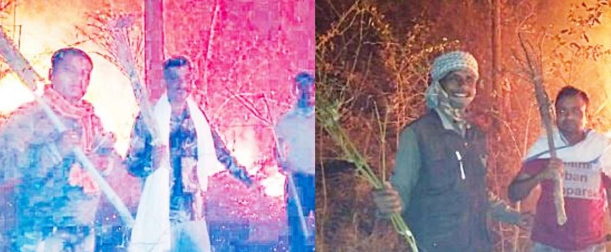 उमरिया : टाइगर स्टेट का दर्जा देने वाला पार्क प्रबंधन के लापरवाही से जला