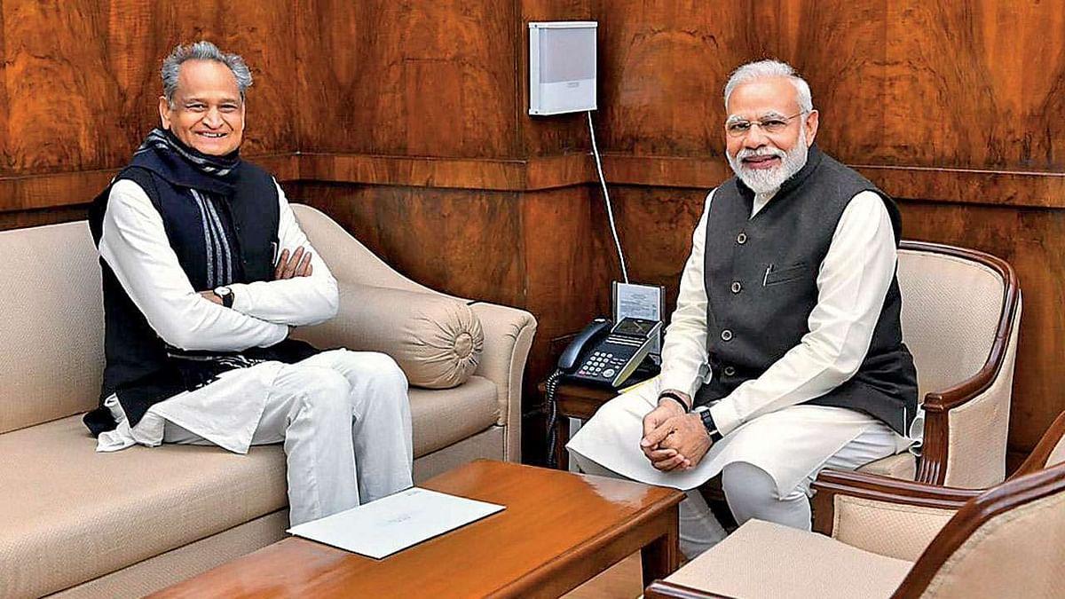राजस्थान CM ने 8 अप्रैल की मीटिंग से पहले PM मोदी को पत्र लिख किया ये आग्रह