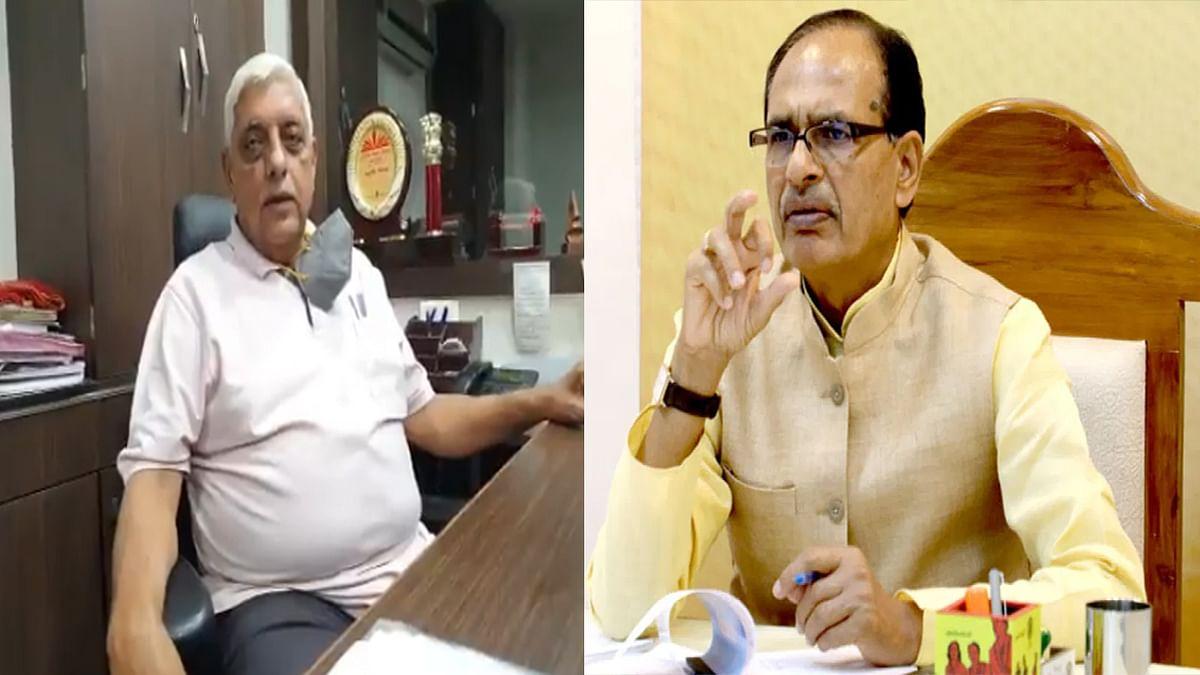 ऑक्सीजन की किल्लत के बीच पूर्व पशुपालन मंत्री ने CM शिवराज को दिए ये सुझाव