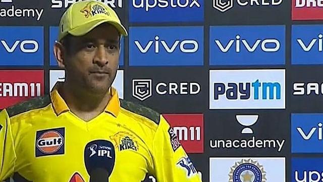 आईपीएल : मैच साढ़े सात बजे शुरू होने पर नाराज हुए धोनी