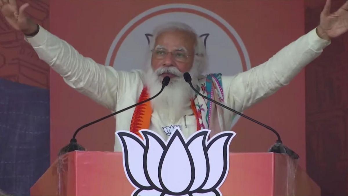 बीजेपी की डबल इंजन सरकार, बंगाल को नया राजनीतिक वातावरण देगी: PM मोदी