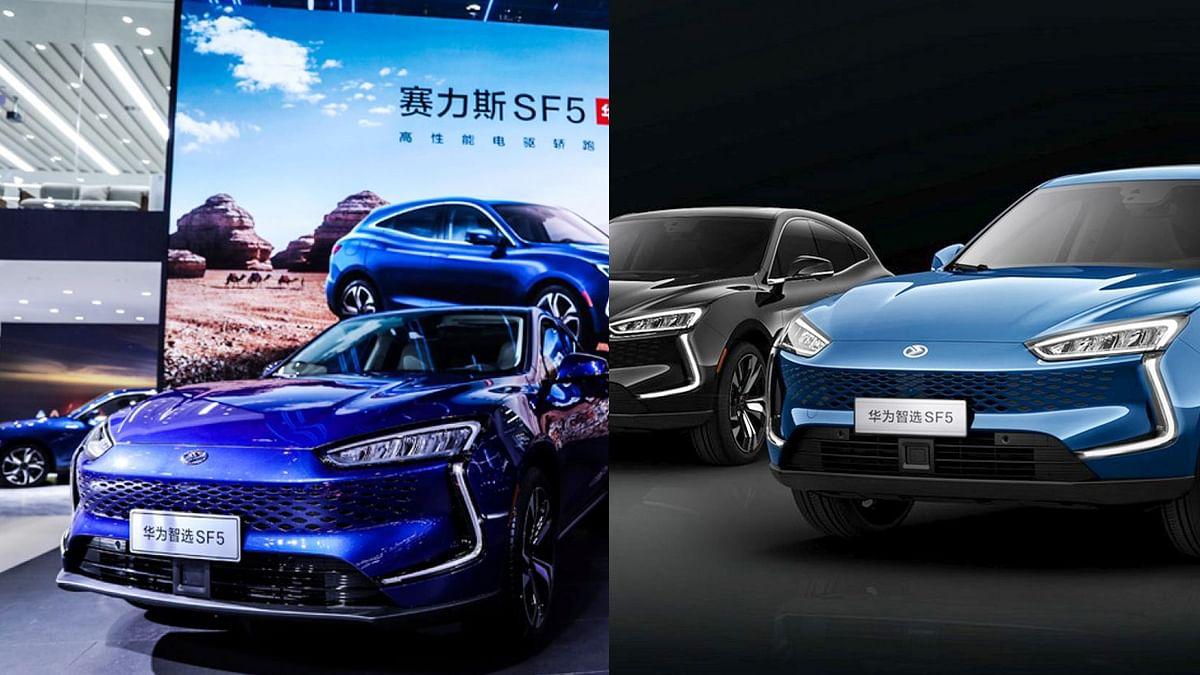 Huawei ने लांच की अपनी पहली इलेक्ट्रिक कार 'SF5'
