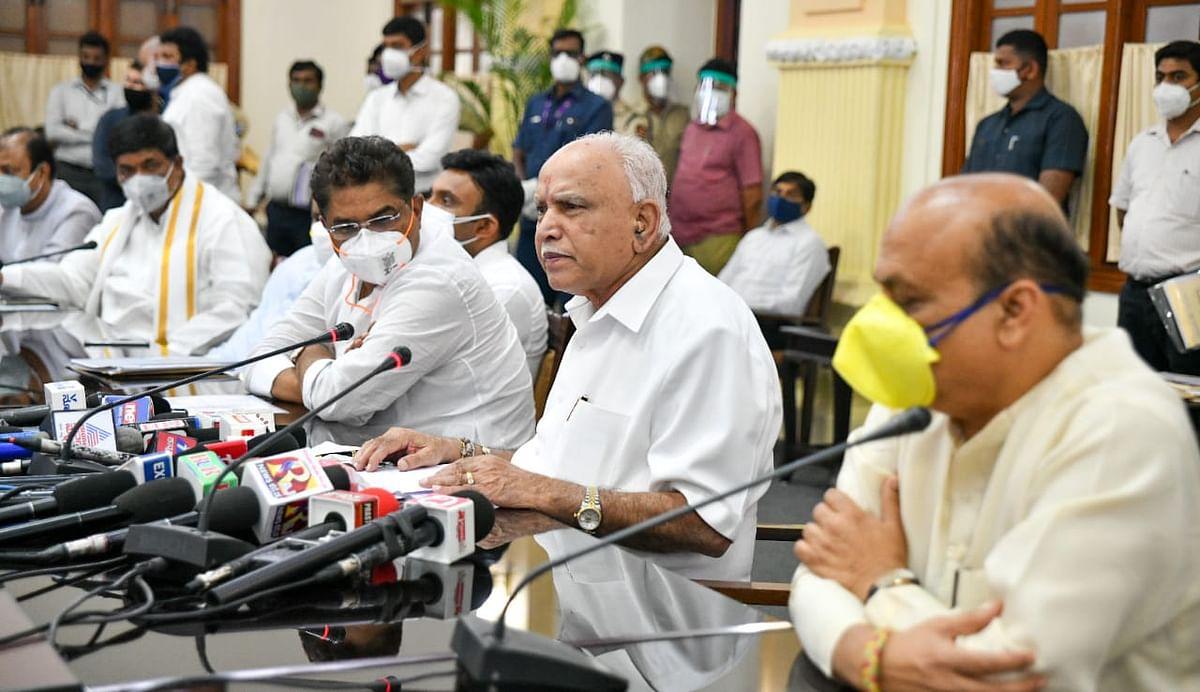 कोरोना की चेन तोड़ने कर्नाटक लॉक- CM येदियुरप्पा का कोविड कर्फ्यू का ऐलान
