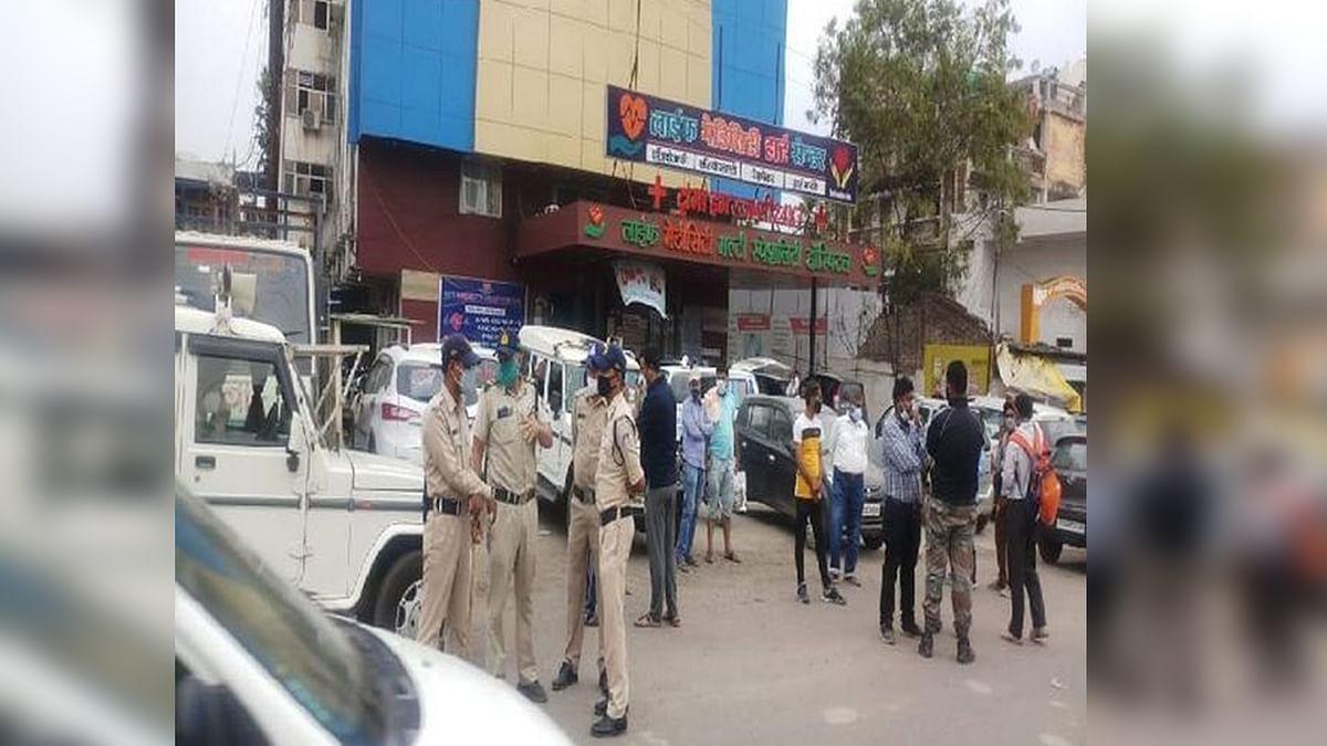 जबलपुर में ऑक्सीजन खत्म होने से 5 मरीजों की हुई मौत, अस्पताल में मचा हंगामा