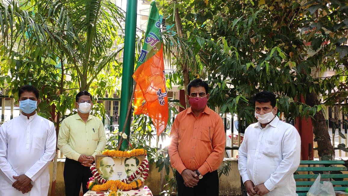 इंदौर : भाजपा ने 41वां स्थापना दिवस मनाया