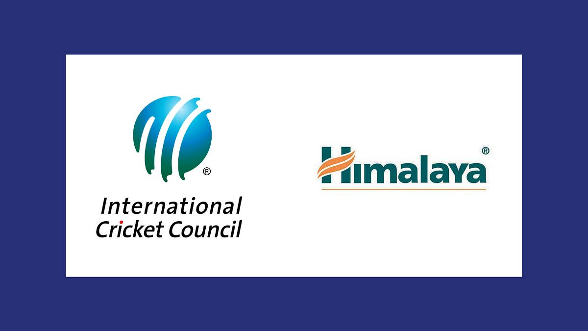 हिमालया अगले 2 वर्षों के लिए ICC के मेन्स इवेंट्स का ग्रूमिंग पार्टनर बना