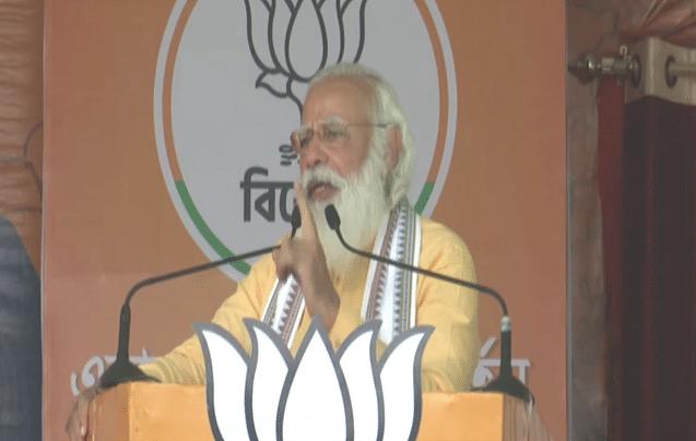 बंगाल में PM मोदी का दावा- 2 मई को बनेगी सीधा फायदा देने वाली सरकार
