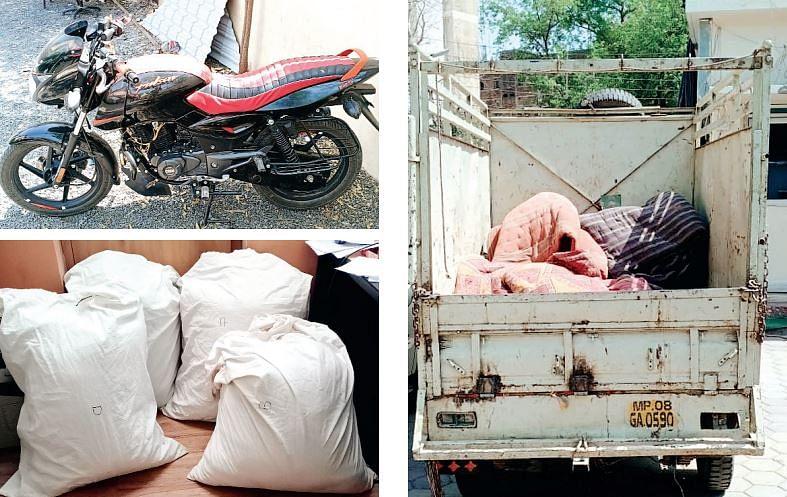इंदौर : महिला सहित पांच नशे के सौदागर गिरफ्तार