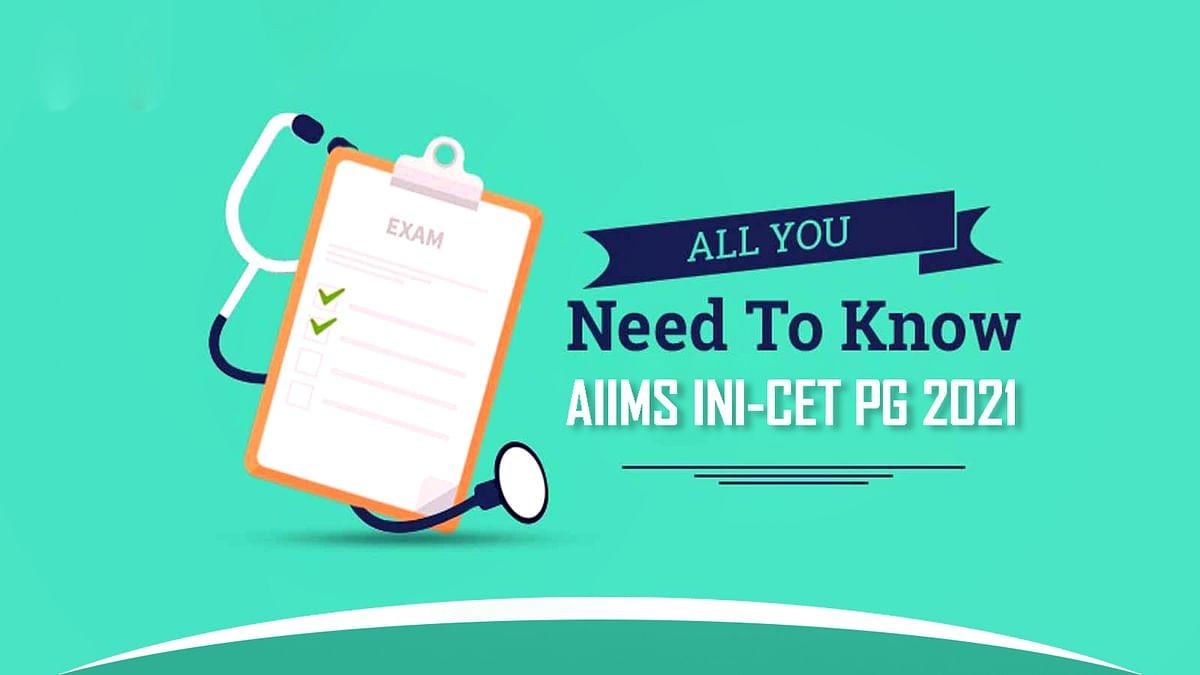 AIIMS INI-CET PG 2021 : कोरोना से बनी वर्तमान स्थिति के चलते परीक्षा रद्द