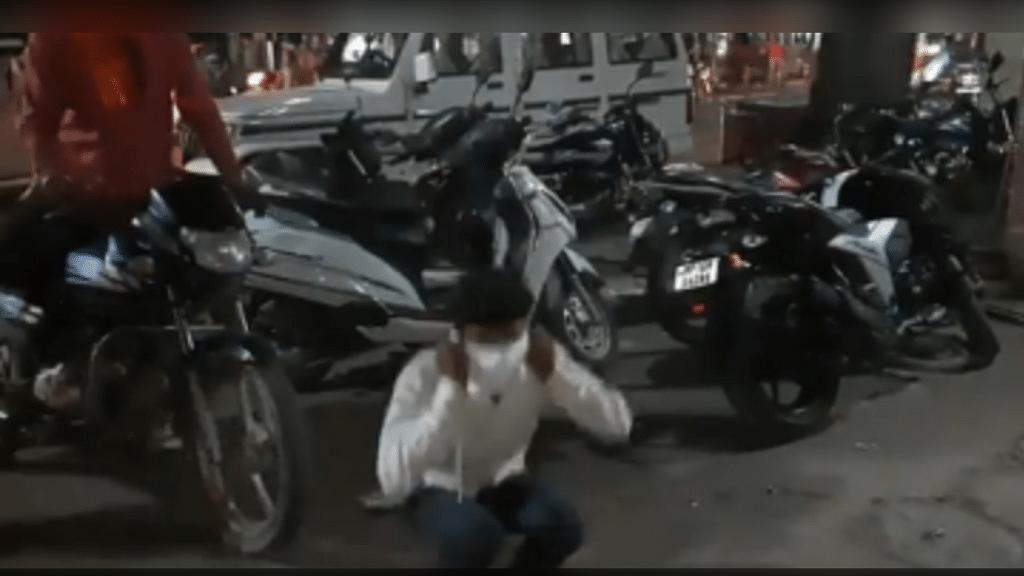 छतरपुर: मास्क न लगाने वालों पर प्रशासन की बड़ी सख़्ती, लगवाई उठक-बैठक