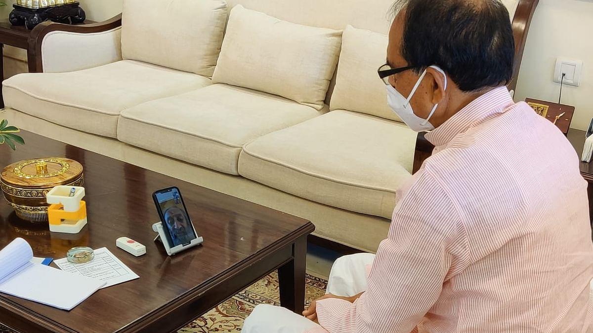 सीएम शिवराज ने श्री श्री रविशंकर से की बात, मिला ये आश्वासन