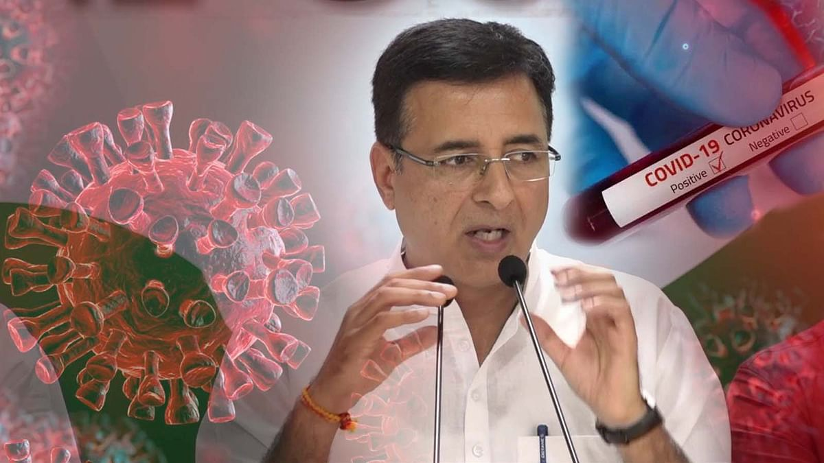 कोरोना की घातक लहर से अब कांग्रेस नेता सुरजेवाला कोविड के शिकार