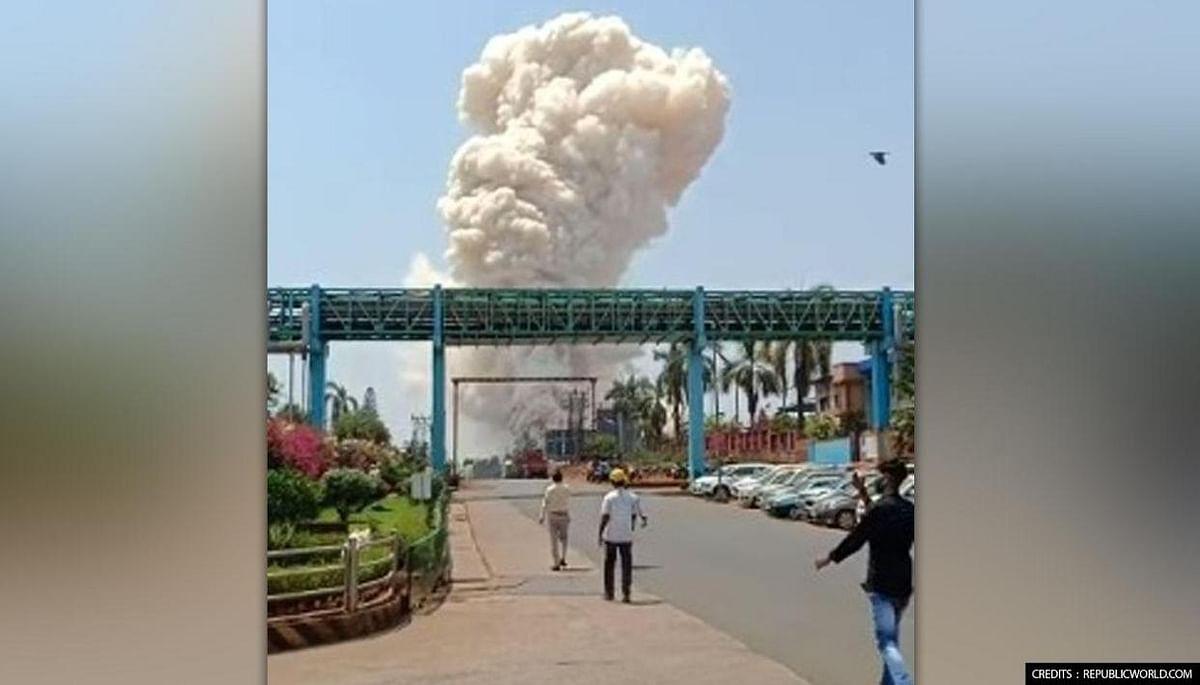 महाराष्ट्र में आग की दूसरी बड़ी घटना-रत्नागिरी फार्मा कंपनी में आग का तहलका
