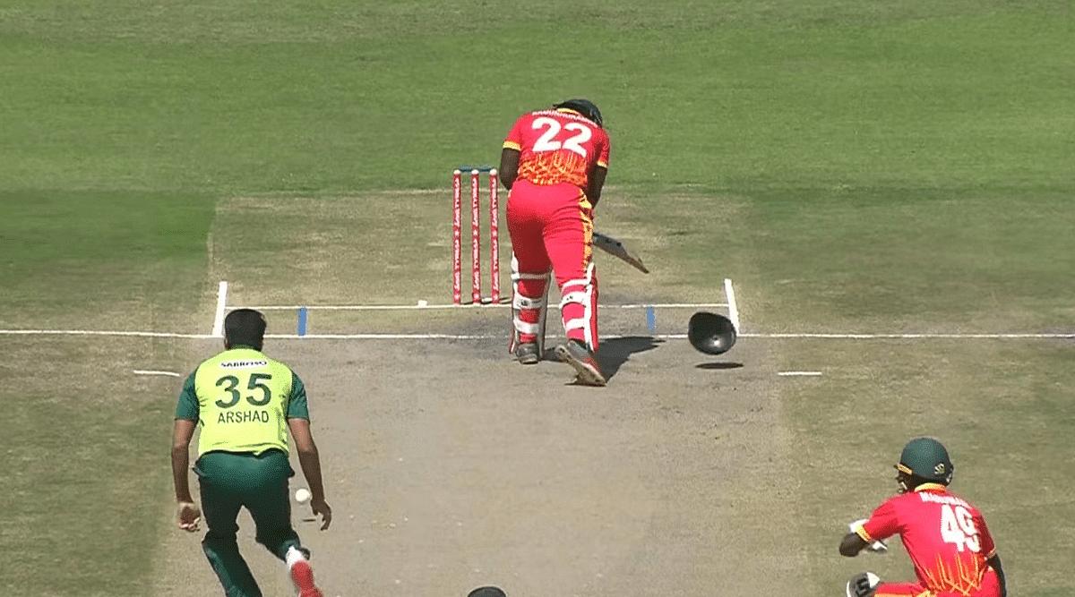 क्रिकेट : जिम्बाब्वे ने पाकिस्तान को 19 रन से दी शिकस्त