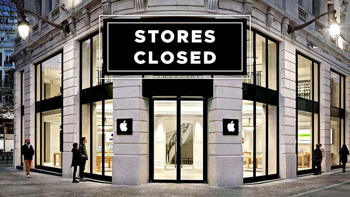 'Apple' कंपनी पर दिखा कोरोना का बुरा असर,   फ्रांस में बंद करने पड़े स्टोर्स