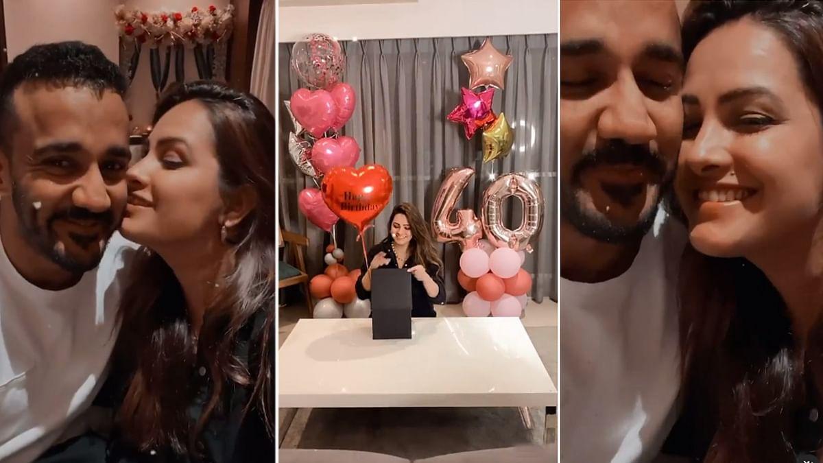 अनीता हसनंदानी ने पति संग ऐसे मनाया अपना जन्मदिन, शेयर किया वीडियो