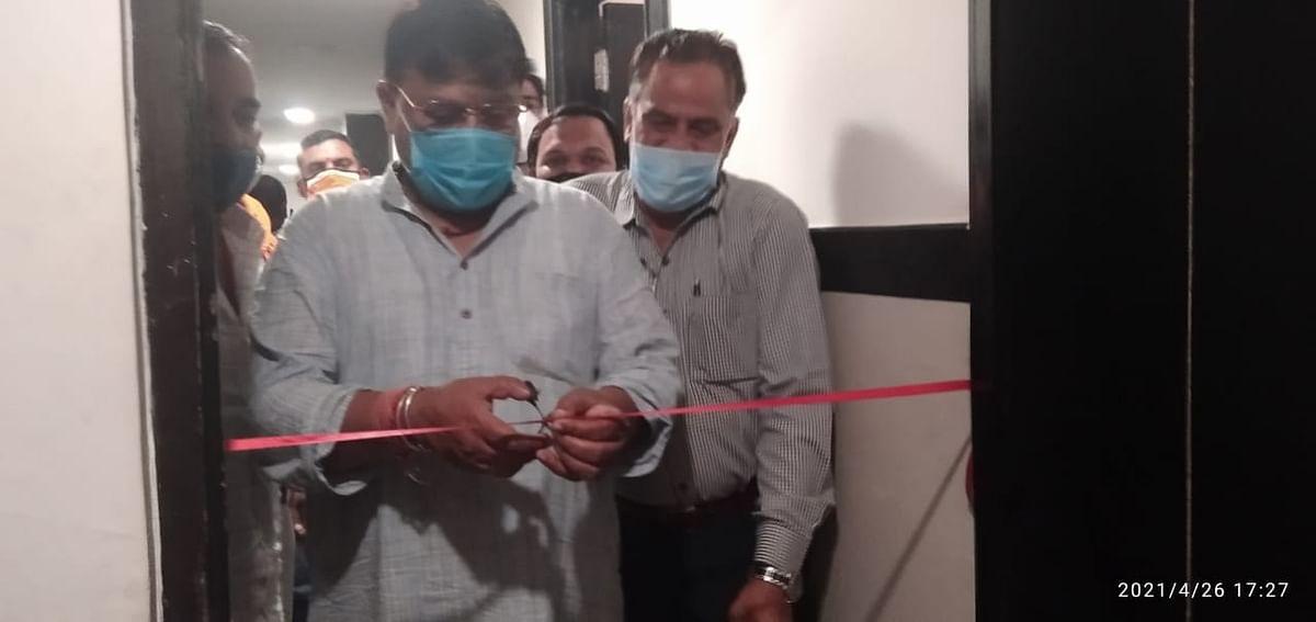 ग्वालियर : मंत्री तोमर ने किया सारथी संस्था के कंट्रोल रूम का उद्घाटन