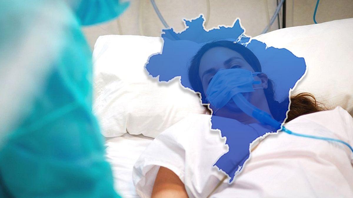 ब्राजील में कोरोना संक्रमण से मृतकों की संख्या 3 लाख 90 हजार के करीब