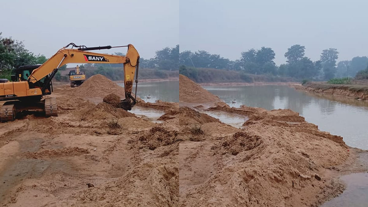 रेत माफियाओं का बढ़ता प्रकोप, जीवनदायिनी नदियों का अस्तित्व खतरे में