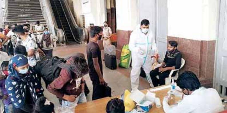 ग्वालियर : महाराष्ट्र से आए 74 यात्रियों की हुई जांच, 7 मिले संक्रमित