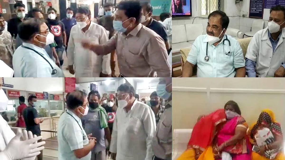 भोपाल: जेपी अस्पताल में मरीज की मौत पर हंगामे के बाद डॉक्टर ने दिया इस्तीफा