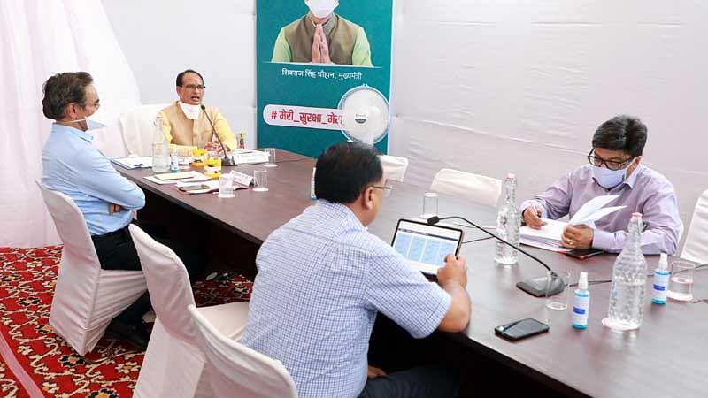 कोरोना संक्रमण को थामने के लिए होगी हर संभव व्यवस्थाएं : मुख्यमंत्री चौहान
