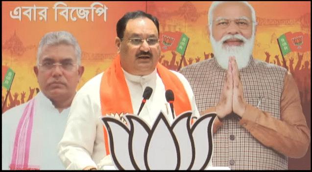 बंगाल में लबपुर मतदाताओं के लिए जेपी नड्डा का संबोधन, जानें क्या कहा खास