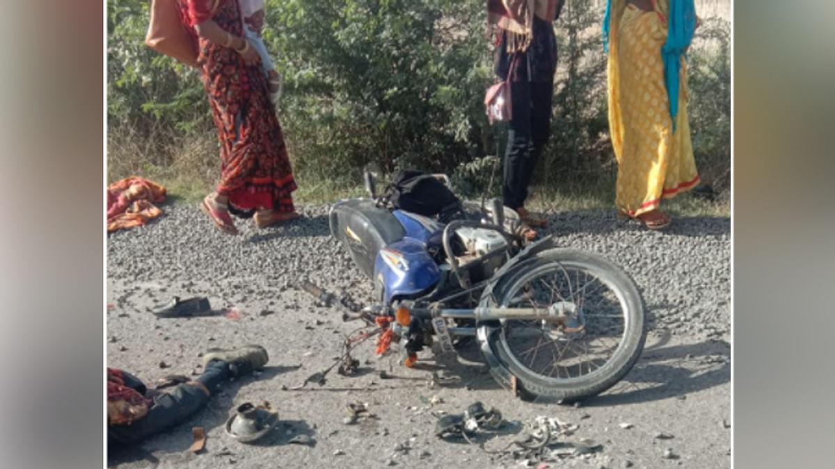 एक और दर्दनाक सड़क हादसा: भिंड में खराब सड़क ने निगली पिता-पुत्र की जान
