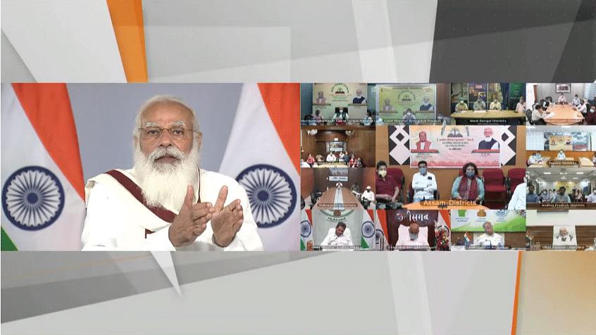 स्वामित्व योजना के तहत PM मोदी ने संपत्ति कार्ड के वितरण का किया शुभारंभ