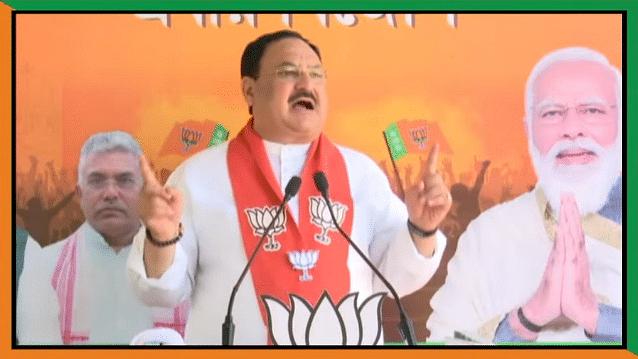 बंगाल: मणिकचक में नड्डा की वर्चुअली रैली-हर फेज में BJP की जीत का किया दावा