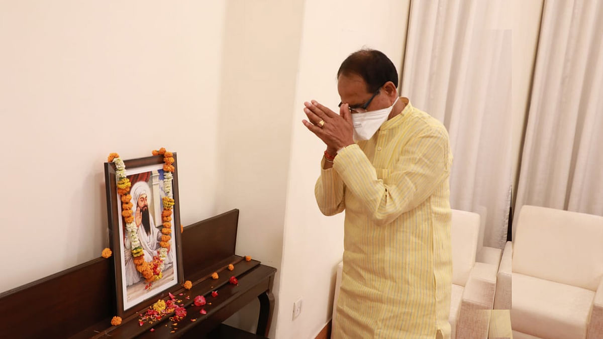 सीएम ने पांचवें सिख गुरू अर्जुन देव की जयंती पर पुष्प अर्पित कर किया नमन