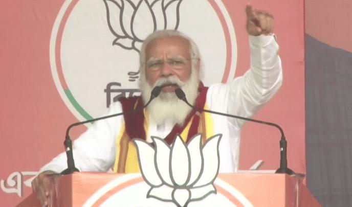 कूच बिहार में मोदी की हुंकार-BJP सरकार बनने के बाद विकास का अभियान होगा तेज