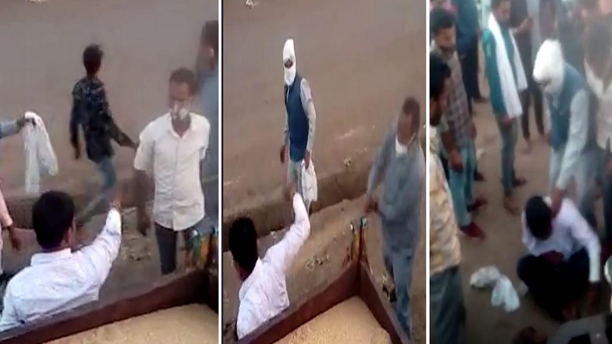 कृषि उपज मंडी में 2 किसानों के बीच विवाद, एक ने दूसरे को लाठी-डंडों से पीटा