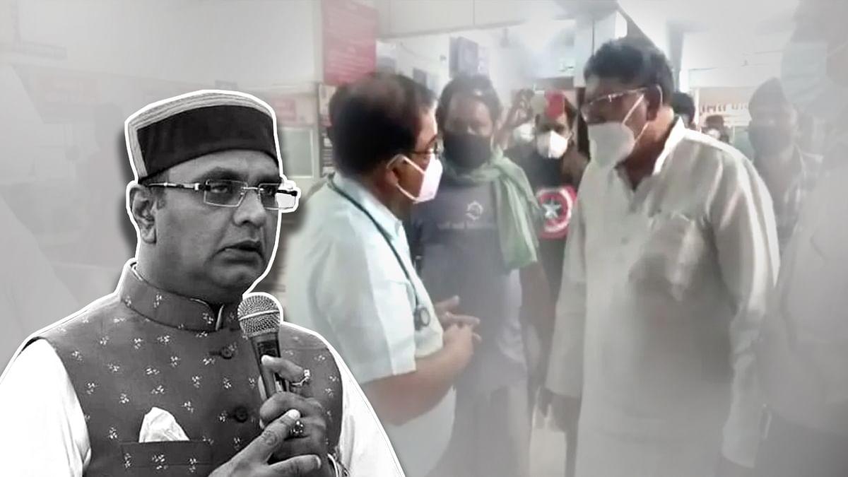 पूर्व मंत्री PC शर्मा को लेकर चिकित्सा शिक्षा मंत्री विश्वास सारंग का बयान