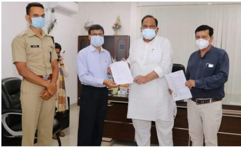 चेतन्य काश्यप फाउण्डेशन मेडिकल कॉलेज में स्थापित करेगा ऑक्सीजन कंसंट्रेटर प्लांट