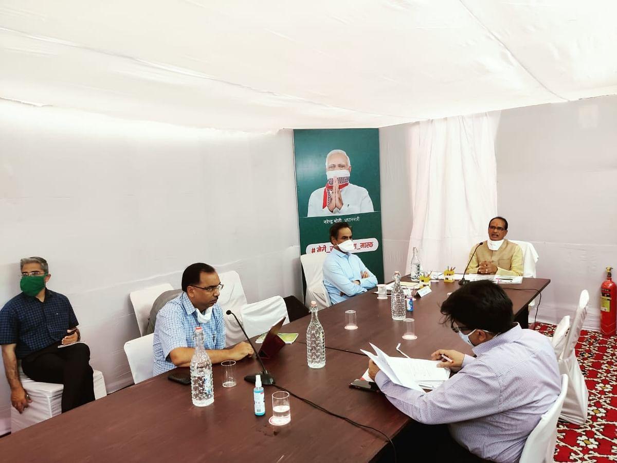 कोरोना नियंत्रण को लेकर हुई कैबिनेट की बैठक, CM ने मंत्रियों से मांगे सुझाव