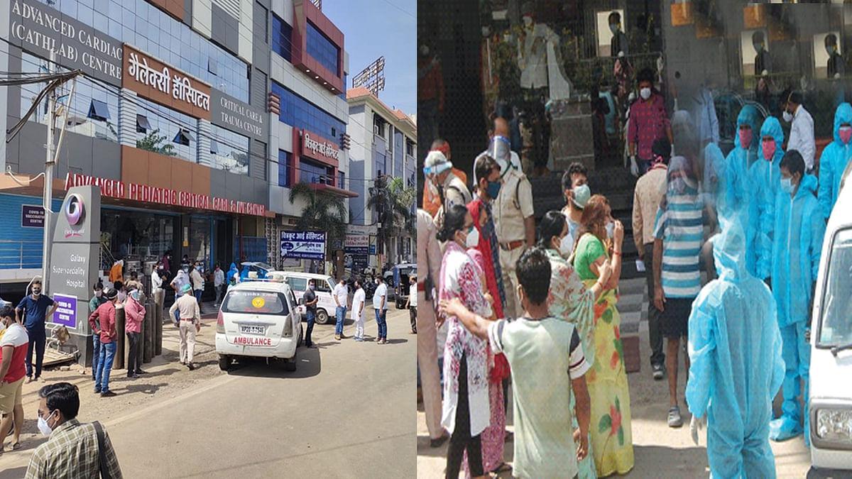 जबलपुर में ऑक्सीजन की कमी से 5 की मौत, अस्पताल में परिजनों ने किया हंगामा