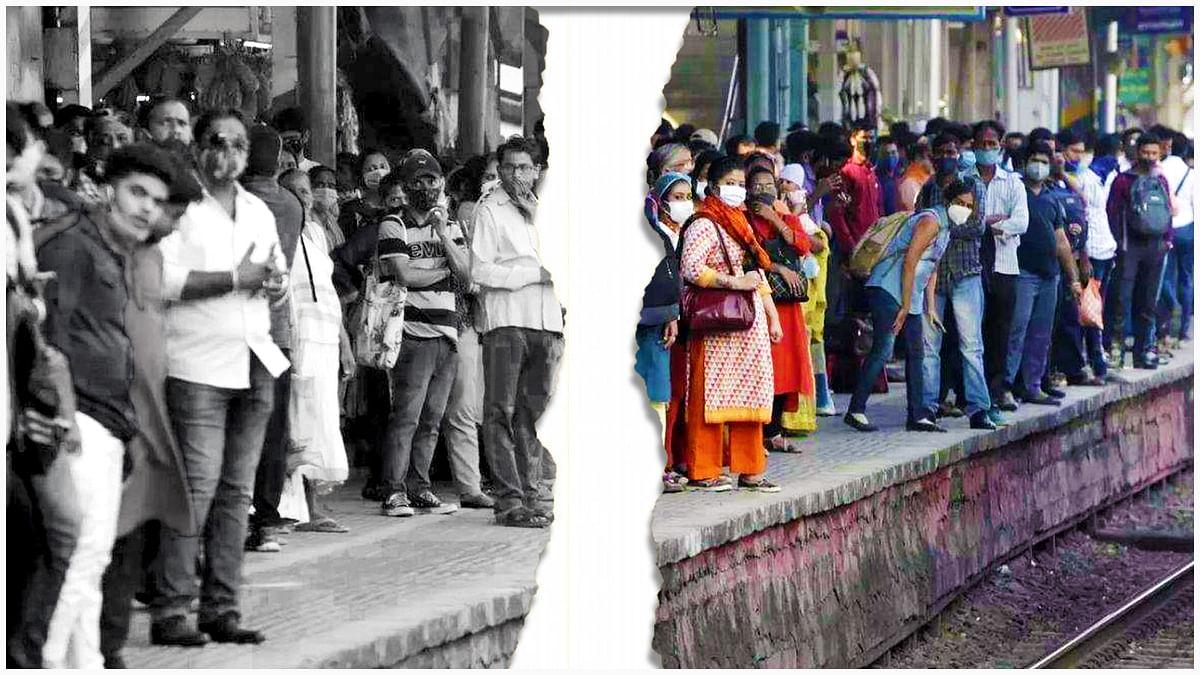 मुंबई और प्रयागराज में लगी प्लेटफ्रॉम टिकटों की बिक्री पर रोक