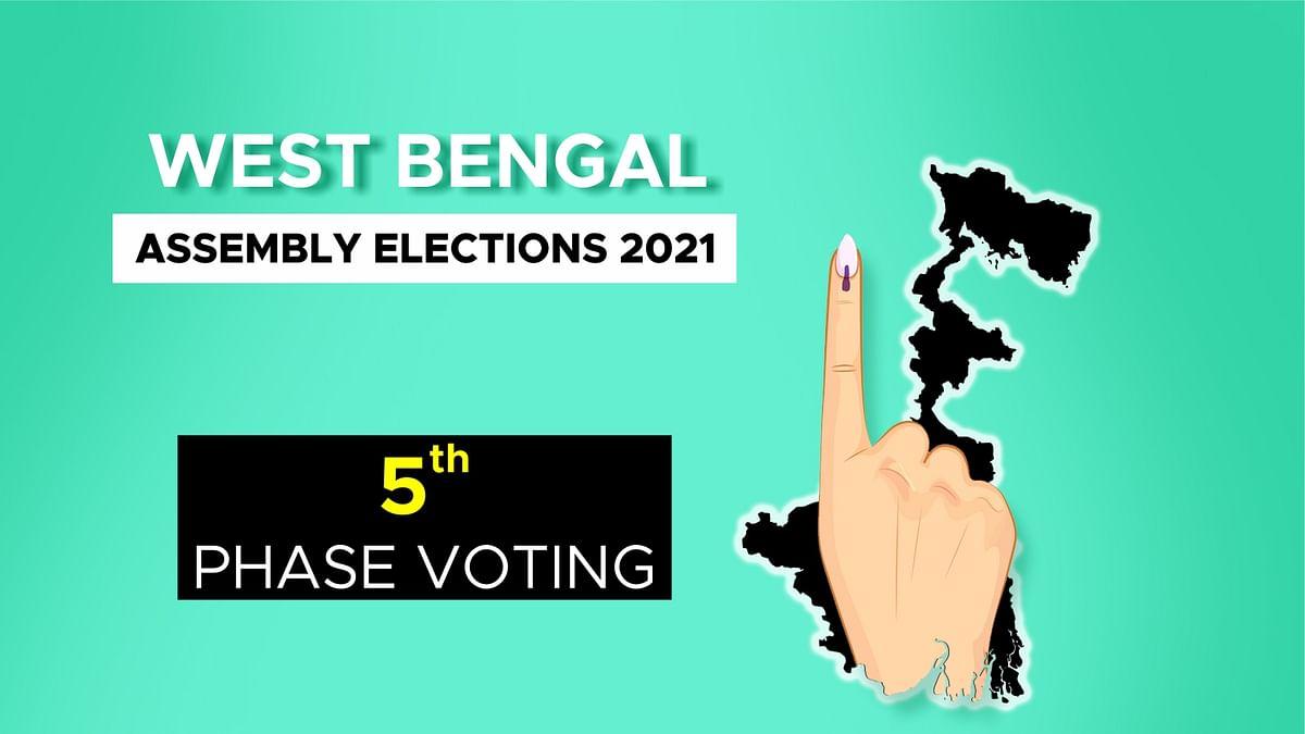 बंगाल विस चुनाव के 5वें चरण की वोटिंग जारी, जानें अब तक के मतदान का प्रतिशत