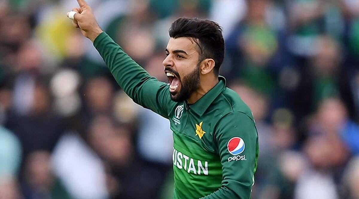 क्रिकेट : चोटिल शादाब खान दक्षिण अफ्रीका दौरे से बाहर