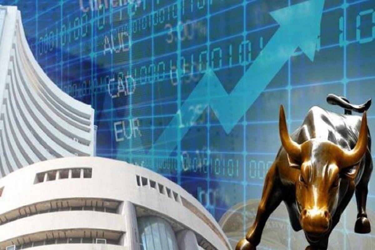 गिरावट से उबरा शेयर बाजार, सेंसेक्स 375 अंक उछला
