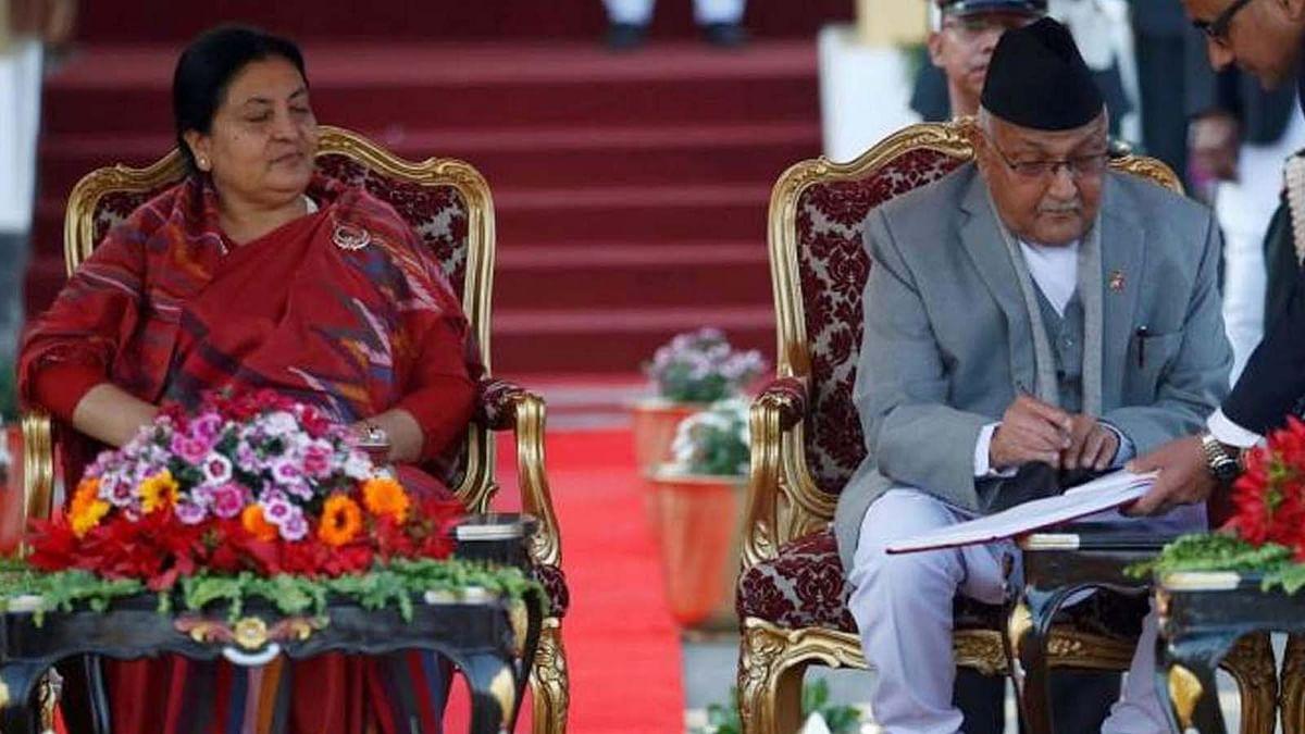 नेपाल की सियासत में नई करवट- राष्ट्रपति ने मध्यावधि चुनाव का किया ऐलान