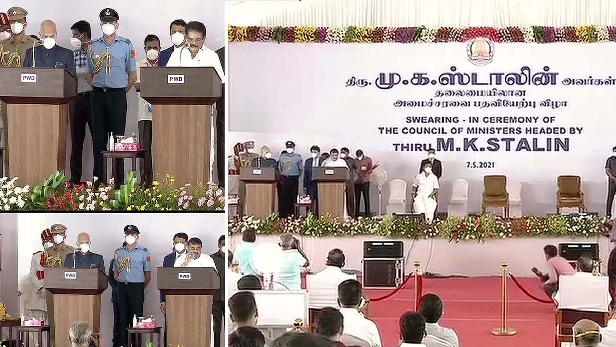 तमिलनाडु में पहली बार MK स्टालिन बने राज्य के CM, पद और गोपनीयता की ली शपथ