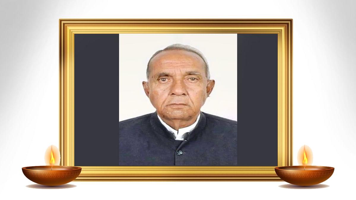 विजेश लूनावत के बाद पूर्व राज्यमंत्री पटेल का निधन